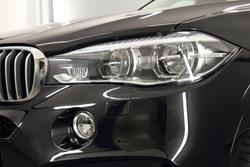 Headlight black car