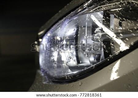 headlight car light #772818361
