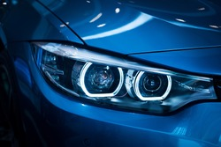 Headlight lamp of new cars