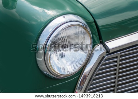 Headlight of the car Headlight  #1493918213