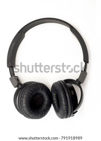 Headphones isolated on white background Сток-фото ©