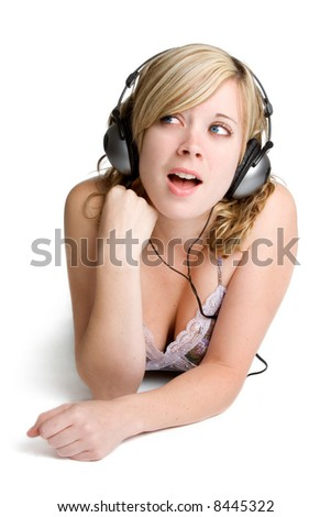 Headphones Woman