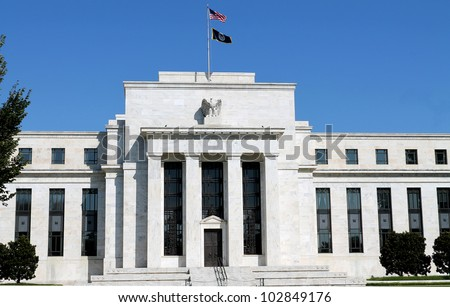 headquarters of the Federal Reserve in Washington, DC, USA,FED