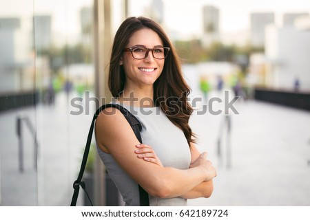 Headshot of cute business woman professional possibly accountant architect businesswoman lawyer attorney