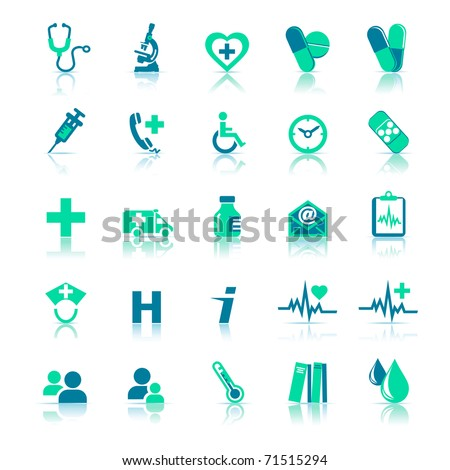 Health care Icons - - A Vector file is also available