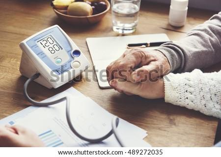 Health Care Risk Assessment Symptoms Medical Concept