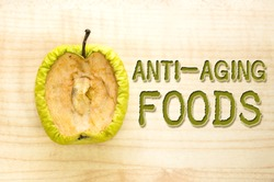Health concept: anti-aging foods