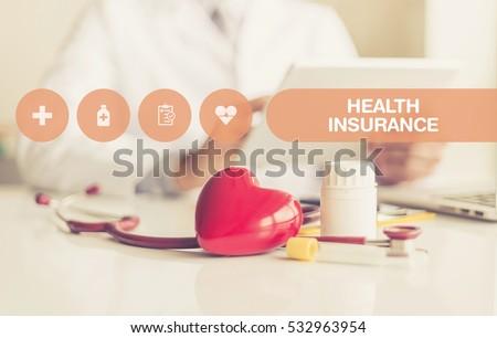 HEALTH CONCEPT: HEALTH INSURANCE #532963954