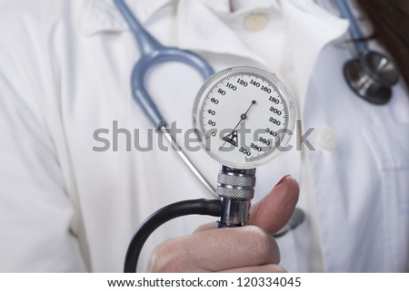 Health matters. This medical device is used to check blood pressure