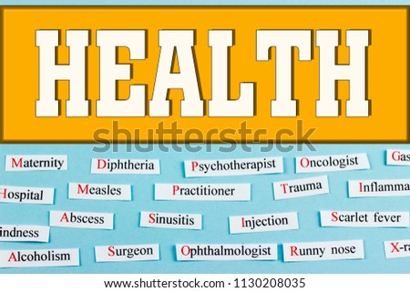 health. medical health care concept #1130208035