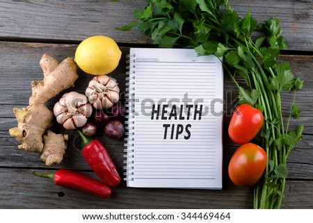Health Tips, health conceptual
