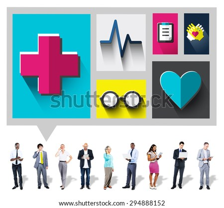 Healthcare Check Up Medical Examination Concept #294888152