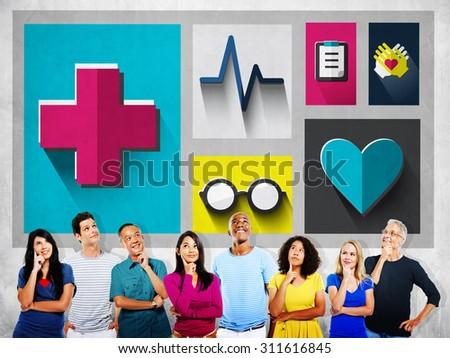 Healthcare Check Up Medical Examination Concept #311616845