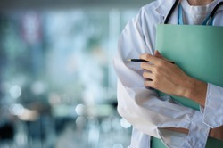 Healthcare, doctor in emergency room