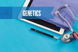 HEALTHCARE DOCTOR TECHNOLOGY  GENETICS CONCEPT