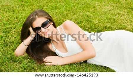 Healthy and happy woman enjoying life