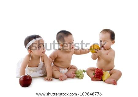 healthy asian babies