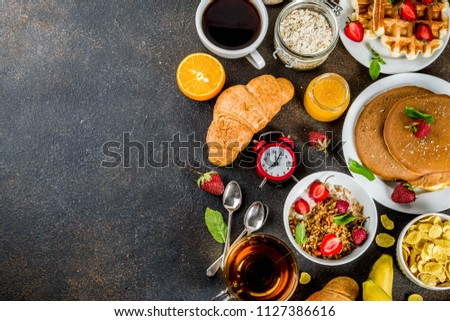 Breakfast Selection Free Photo