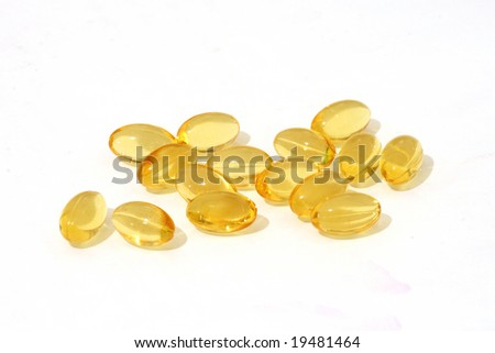 healthy cod liver oil nutritional supplements pills