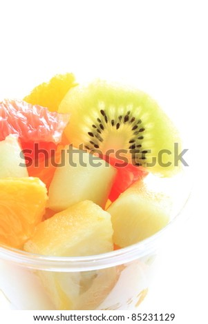 Healthy eating, mixed fruit