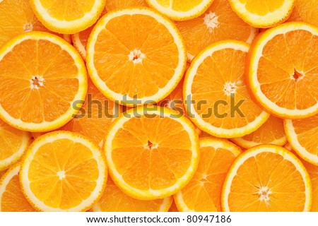 Shutterstock Healthy food, background.  Orange