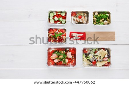 Free Photos Healthy Food Delivery Take Away Of Natural Organic Low