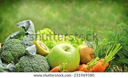 Healthy food - vegetarian food