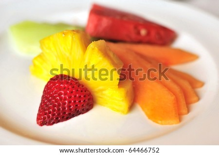 is fruit salad healthy fruit plate