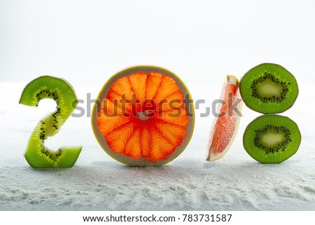 Healthy holidays food and diet. New year's decisions about a healthy lifestyle. New trends and perspectives in fitness, healthy lifestyle, sports nutrition.
