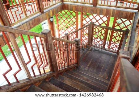 healthy lifestyle sports; stone stairs; Wooden stairs