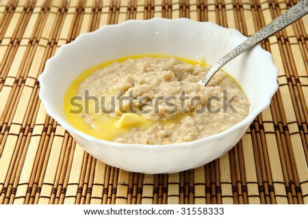 healthy morning porridge