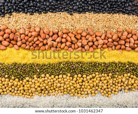 Healthy nutrition whole grains coarse grains #1031462347