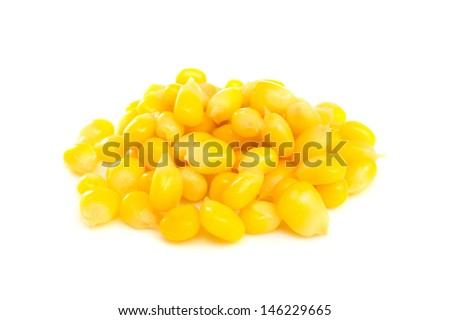 heap of boiled sweet corn