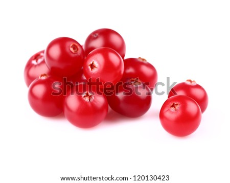 Heap of fresh cranberry