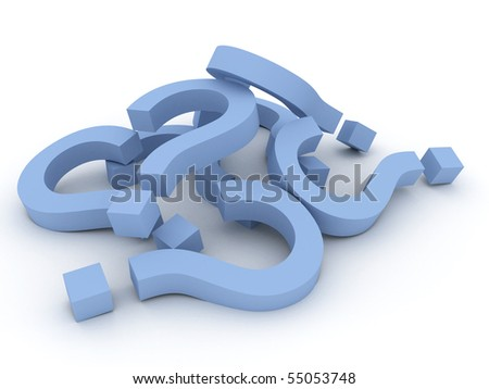 pics of question marks. stock photo : Heap of question marks