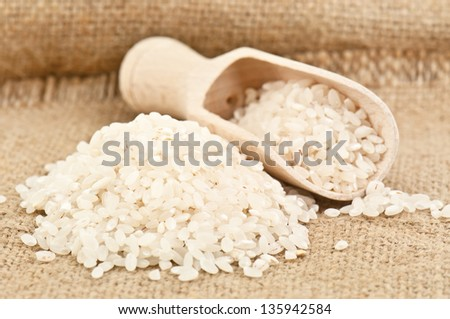 heap of rice in the photo