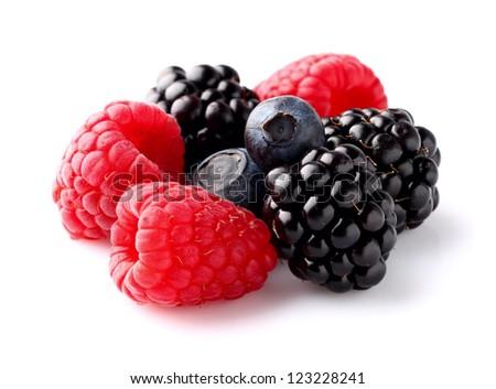 Heap of ripe berry