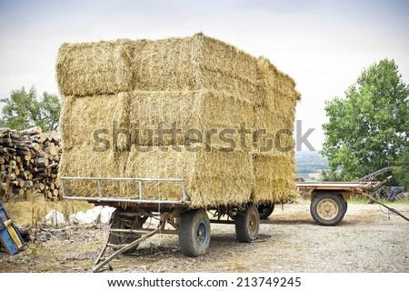 Heap of straw