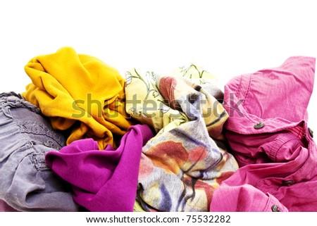 Heap Wash clothes