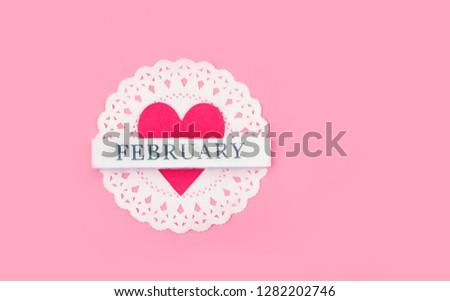 heart and inscription