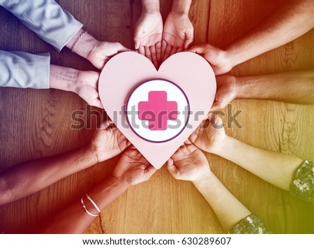 Heart Attack Chest Sick Disease Cardiology - Shutterstock ID 630289607
