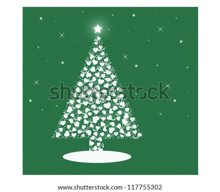 Heart Christmas Tree