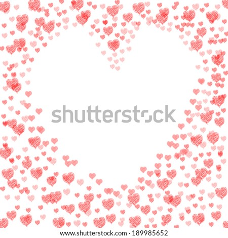 Heart Cut From Background Meaning Lovely Marriage Or Passionate Wedding