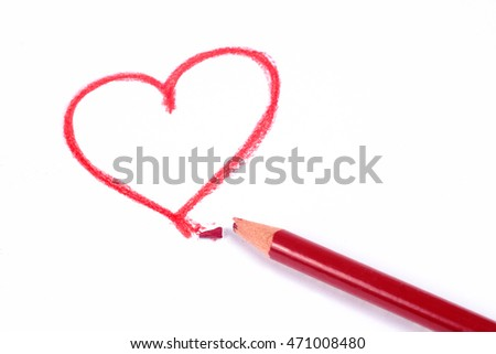 Heart drawing #471008480