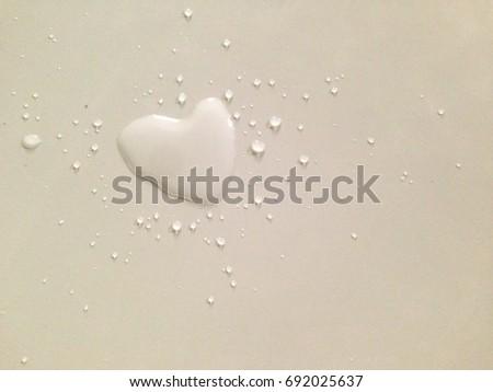 Stock Photo Heart drops on the floor