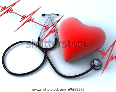 Heart health - stock photo
