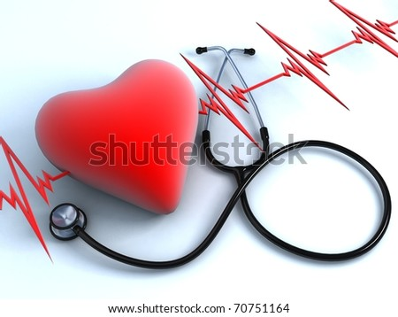 Heart health - stock photo