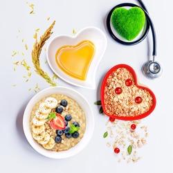 Heart Healthy Breakfast: Nutritious Oats and Healthy Rice Bran Oil