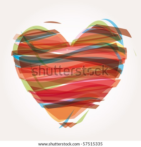 heart Illustration icons symbols Valentine day