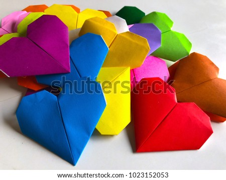 Heart of Love / Valentine / Love / Heart-shaped background #1023152053